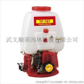 TF767背负式动力喷雾器 二冲程汽油高压喷雾打药机
