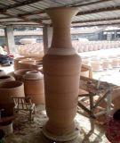 中國紅陶瓷裝飾品,景德鎮陶瓷工藝品廠,陶瓷花瓶