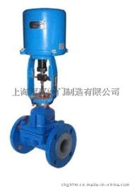 ZDLT电动调节隔膜阀, 上海阀门厂
