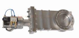 供应PZ73W-16P 国标手动不锈钢浆液刀型闸阀精工阀门