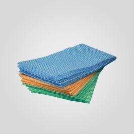 厂家供应 水刺无纺布  波浪纹 印花 擦拭布 水刺无纺布卷材 点段卷