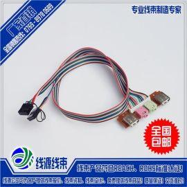 杜邦端子線|2.54間距端子連接線|杜邦端子線廠家