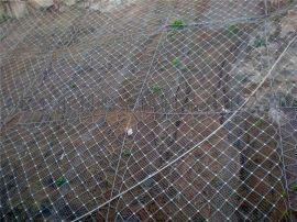 供应sns柔性边坡防护网 柔性钢丝绳网