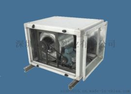 胜博HFTC系列低噪声消防通风(两用)柜式离心风机