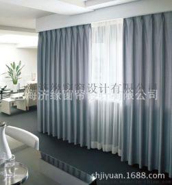 医用窗帘 宾馆工程布   布艺窗帘布 养老院遮光布窗帘批发