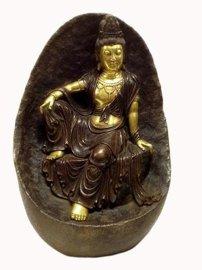 自在观音菩萨铜佛像