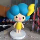 玻璃鋼卡通人物雕塑定製玻璃鋼動漫主題雕塑擺件商場美陳裝飾