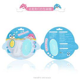 多了趣全硅胶指套牙胶 婴儿乳牙刷 舌苔清洁器