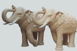厂家供应园林雕塑城市雕塑景观雕塑? 工艺品大象雕塑