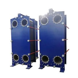 江苏远卓水源热泵主机冷却分离用可拆板式冷却器