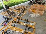 自行车停放架 钢筋自行车停放架 自行车停放架