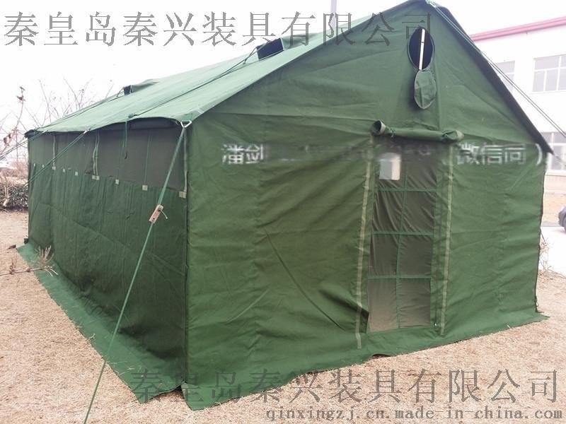 6x4軍綠帆布炊事單帳篷