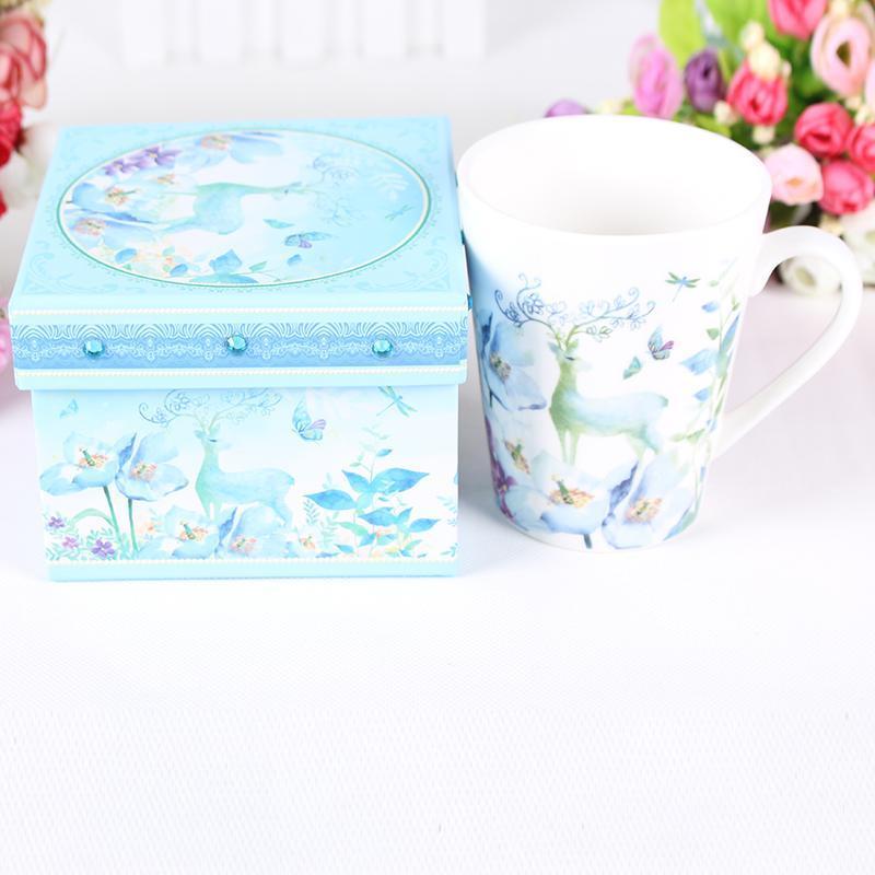 个性定制LOGO广告陶瓷礼品马克杯商务节日活动赠品水咖啡杯子促销