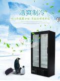 厂家供应双玻璃门冷藏展示柜——饮料展示柜
