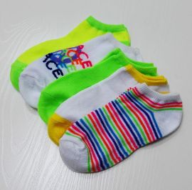袜子童船袜彩条童袜纯棉童袜