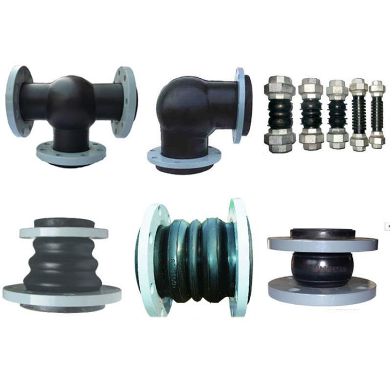 厂家生产 耐热单球橡胶软接头 避震喉 品质优