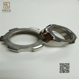 铸造加工不锈钢五金配件 304六角螺母