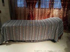 订做泰式大象床单 床笠 spa床罩 会所床罩