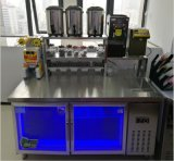 焦作一台奶茶操作台多少钱,不锈钢水吧台定制