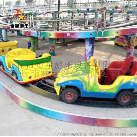 轨道滑行迷你穿梭 童星游乐设备厂家投资小利润高