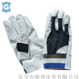 牛皮透氣防滑安全勞保手套戶內外成人搬運工作耐磨手套