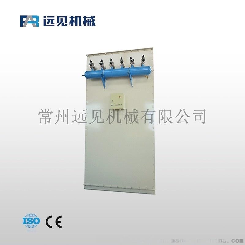 方形布袋除塵器 麪粉加工除塵設備 飼料加工除塵設備