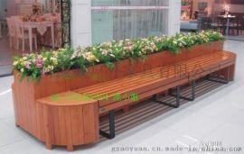 户外家具 实木花箱 长方形花槽 款式多样 工厂直销