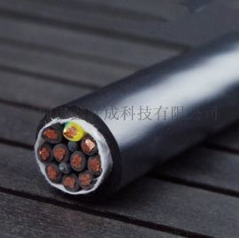 深圳高柔性双绞  机器人拖链电缆10芯TRVSP5*2*24AWG 耐油耐寒耐弯曲