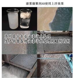 安徽喷漆房循环水处理用高效漆雾凝聚剂ab剂-江苏ab剂生产厂家直销