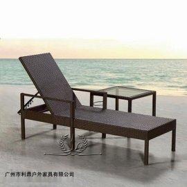 阳台折叠椅 卧室午休椅 可折叠懒人椅新款时尚休闲躺椅沙滩椅