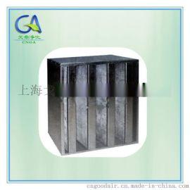 颗粒活性碳板式过滤器  厢式活性炭过滤器