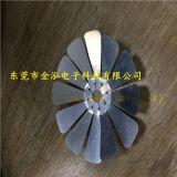 金泓 LED散熱器 鋁箔散熱器 汽車大燈散熱器
