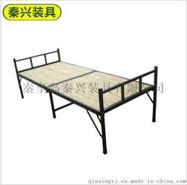 新款折叠单人床 简易加固折叠床 办公室午休单人床