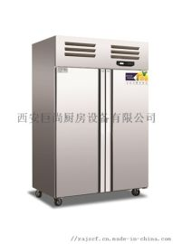 西安厨房设备 西安制冷设备 双大门冰箱