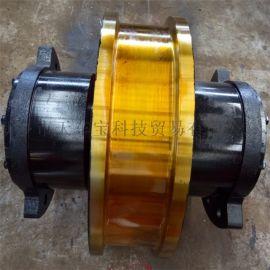 直径800锻钢双缘车轮组 台车车轮组 无沿车轮组