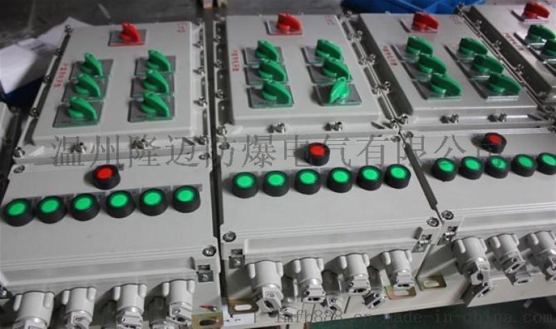 定制多回路防爆配电箱