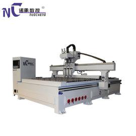 板式家具数控自动化机械设备-双工序排钻数控开料机