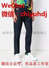 哪里有原单的kenzo高田贤三男装牛仔裤批发代购