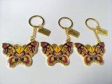 隆珅达专业定做金属钥匙扣创意新款蝴蝶钥匙链定制物美价廉 欢迎订购