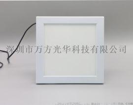 微波感应面板灯 LED明装式面板灯 LED吸顶灯
