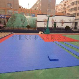 石家莊室外籃球場用250塑料懸浮拼裝運動地墊