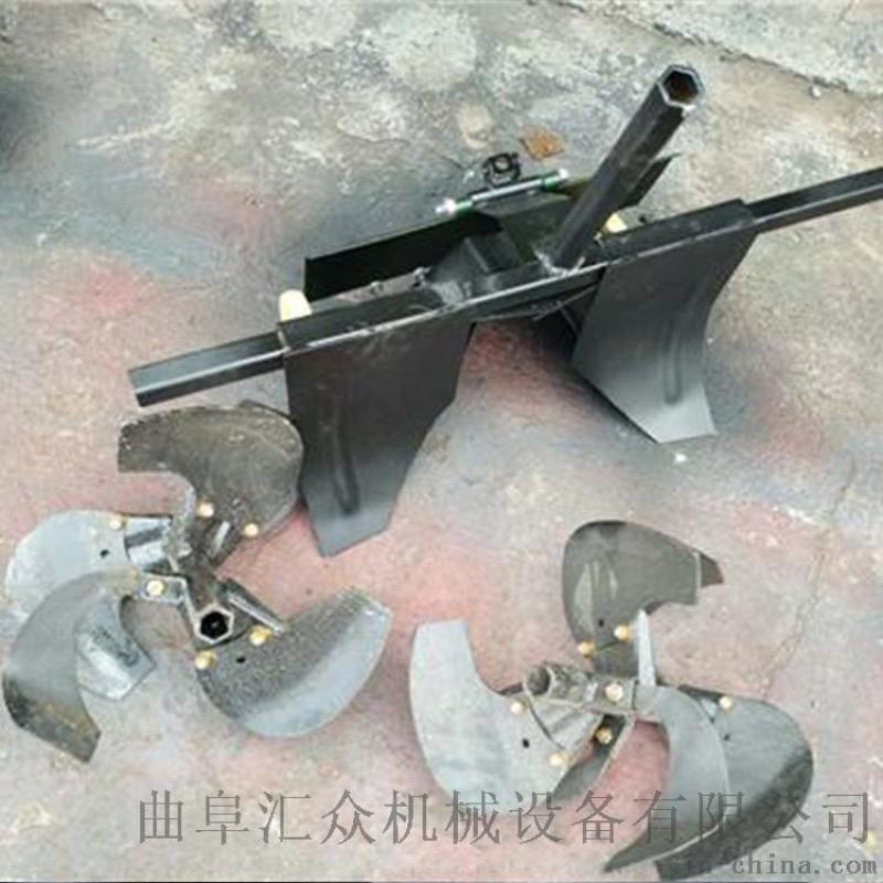 小型开沟机手扶式开沟培土机批发 拖拉机开沟施肥机提高生产效率