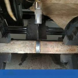 48脚手架管焊接机缩管机四川成都全自动钢管焊管机