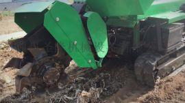 柴油机款履带式旋耕机
