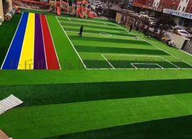 山西忻州足球场人造草坪厂家直销