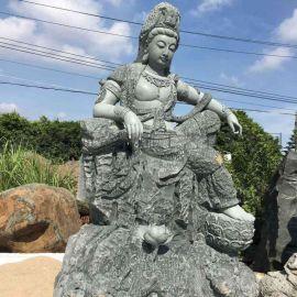 寺庙石雕观音像 福建省佛像生产厂家