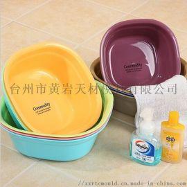 洗脸盆洗衣盆 家用加厚塑料脸盆  塑料盆模具