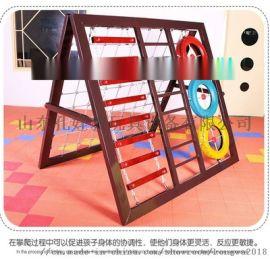 新款幼儿园铁质攀爬架 儿童户外大型玩具组合体能训练