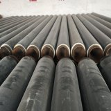 伊克昭盟鑫金龍DN500/529高密度聚乙烯聚氨酯發泡保溫鋼管 黑皮子聚氨酯保溫管
