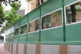 成都聲屏障/四川道路鋼化玻璃聲屏障安裝
